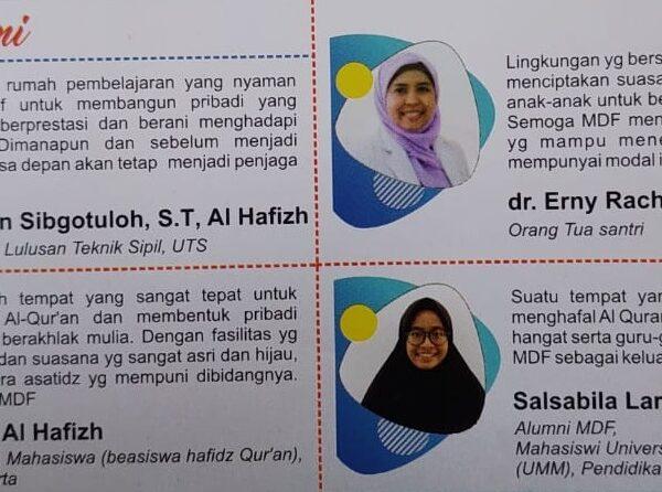 Testimoni dari Alumni MDF